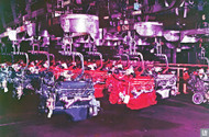 1955 GMC Pontiac Michigan Assembly Plant Art Poster