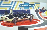 1967 Camaro Auto Show Display Art Poster