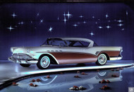 1957 Buick Ad Poster