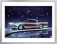 1957 Buick Ad Framed Print