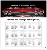 Chevelle 2021 Wall Calendar