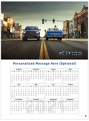 Silverado and C10 Centennial 2021 Wall Calendar