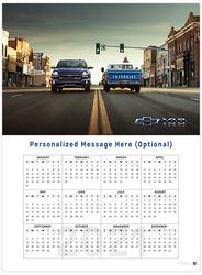 Silverado and C10 Centennial 2021 Wall Calendar