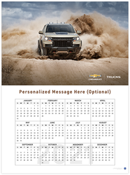 Colorado ZR2 2021 Wall Calendar