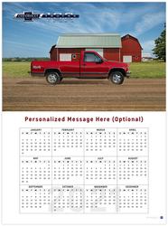 Chevy Trucks Centennial 2021 Wall Calendar