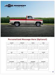 Chevy Trucks Centennial II 2021 Wall Calendar