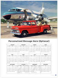 Chevy Pickup 2021 Wall Calendar