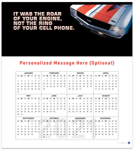 Classic Camaro 2021 Wall Calendar