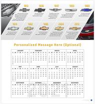 Chevrolet Bowtie History 2021 Wall Calendar