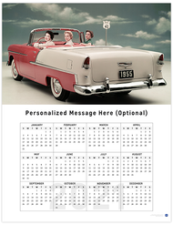 Bel Air II 2021 Wall Calendar