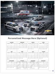 Chevrolet Police Lineup 2021 Wall Calendar