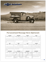 Chevy Trucks Vintage 2021 Wall Calendar