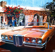 1970 Pontiac Catalina Ad  Poster