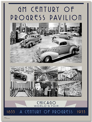 1933 Century of Progress - Showroom Poster IV
