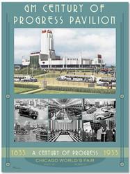 1933 Century of Progress - GM Pavilion Poster I