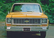 1973 Chevy Pickup Personalized Poster