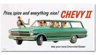 Chevrolet Vintage 1962 Metal Sign