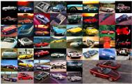 Corvette History Art Poster