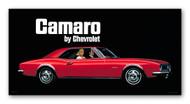 Chevy Camaro Vintage 1967 Metal Sign