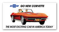 Corvette 1963 Billboard Banner