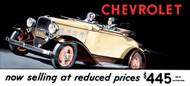 Chevrolet Vintage 1932 Billboard Banner