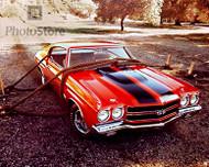 1970 Chevrolet Chevelle Malibu SS Poster