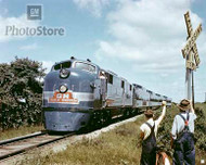 1947 GM Train of Tomorrow Streamliner Poster