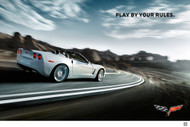 2011 Chevrolet Corvette C6 Convertible Poster