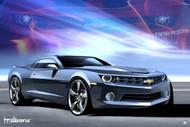 2009 Chevrolet Camaro Legend Reborn Poster