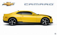 2010 Chevrolet Camaro Rally Yellow Poster