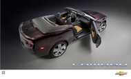 2011 Chevrolet Camaro Neiman Marcus Convertible Poster