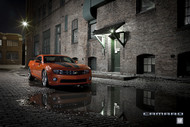 2011 Chevrolet Camaro 2SS Inferno Orange Poster