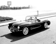 1957 Chevrolet Corvette Convertible Poster