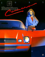 1981 Chevrolet Camaro Coupe Poster