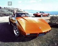 1975 Chevrolet Corvette Stingray Coupe Poster
