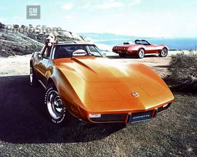 Show me pictures of a 1975 corvette stingray