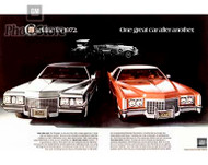 1972 Cadillac Sedan DeVille and Cadillac Fleetwood Eldorado Poster