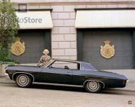 1970 Chevrolet Impala Custom Coupe Poster