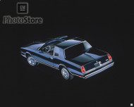 1983 Chevrolet Monte Carlo Coupe Poster