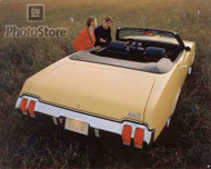 1970 Oldsmobile 442 Convertible Poster