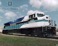 1990s EMD Diesel Electric Locomotive II Poster