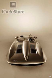 1958 Chevrolet Corvette Sting Ray Racer Poster