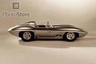 1958 Chevrolet Corvette Sting Ray Racer II Poster