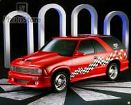 1997 Chevy Blazer NASCAR Official Truck Poster