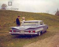 1960 Chevrolet Impala 4-Door Sport Sedan Poster