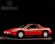 1984 Pontiac Fiero Coupe Poster