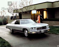 1975 Chevrolet Caprice Classic Coupe Poster