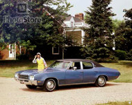 1971 Buick Skylark Custom 4-Door Sedan Poster