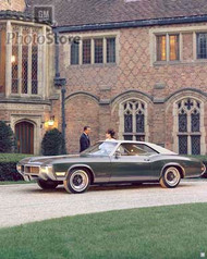 1968 Buick Riviera Coupe Poster