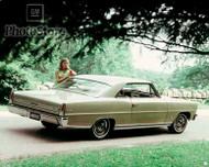 1966 Chevrolet Chevy II Nova SS Coupe Poster